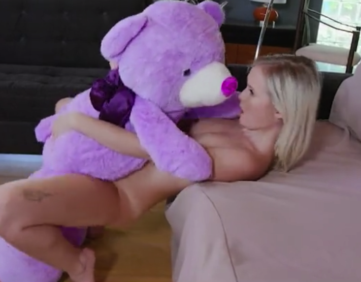 cute milf eyes gives pov blowjob and swallows